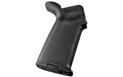 genuine Magpul MOE Plus Grip that will fit on your AR platform. Will fit both AR-15 and AR-10 platforms, Black. This grip features a storage compartment.