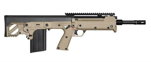 Bull pup RFB Rifle in tan manufactured by Kel-Tec Chambered in .308