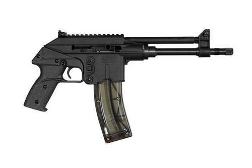 PLR-22 chambered in .22 Long Rifle. This firearm is classified as a pistol. Manufactured by Kel-Tec