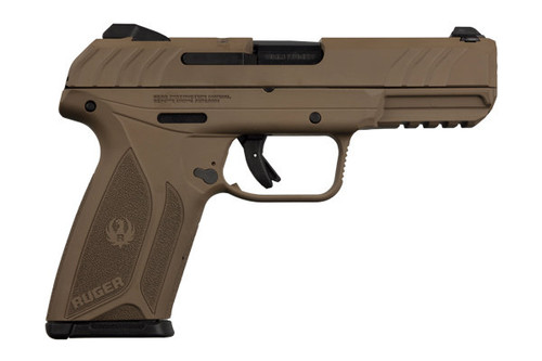 Security 9 FDE chambered in 9mm manufactured by Ruger.
