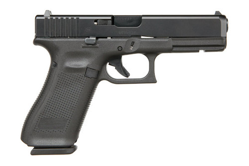 Glock 17 Gen 5 chambered in 9mm. Comes with (3) 17 round magazines