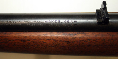 Winchester Model 69A  22 L,S,LR - Used