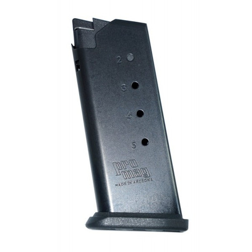 This is a Springfield magazine for the XD-S .45 acp, 5 round capacity, made by ProMag.