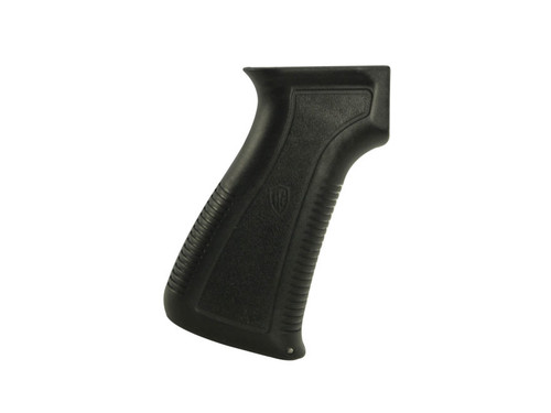 AA121-  Archangel OPFOR������ AK-series pistol-grip is designed to fit all AK���������s.  Ergonomically designed for comfort and superior weapon retention, it is molded from a proprietary carbon-fiber filled polymer, with molded-in front-strap and back-strap grooving for positive control.  A secure grip-storage compartment allows the convenient storage of small items