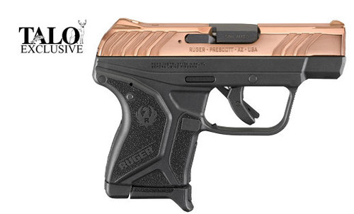 This is a Ruger LCP II .380 acp. This new version of the LCP features a number of great upgrades. This particular model has a Stainless Steel slide with a Rosegold PVD high polish finish.