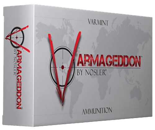 .221 Remington Fireball Ammunition Varmageddon with a 40gr FB Tipped projectile, 20 Rounds/ Box, manufactured by Nosler.