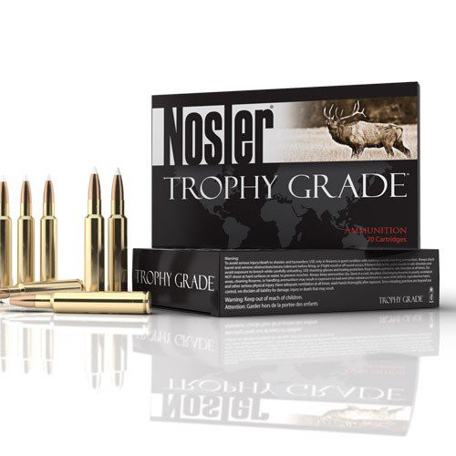 .280 Ackley Improved Ammunition with a 140gr Accubond projectiles, 20 Rounds/ Box, manufactured by Nosler.