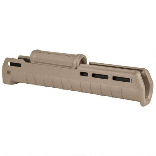 This is a genuine Magpul Zhukov AK Handguard that will fit on your AK platform firearm. FDE(Flat Dark Earth).