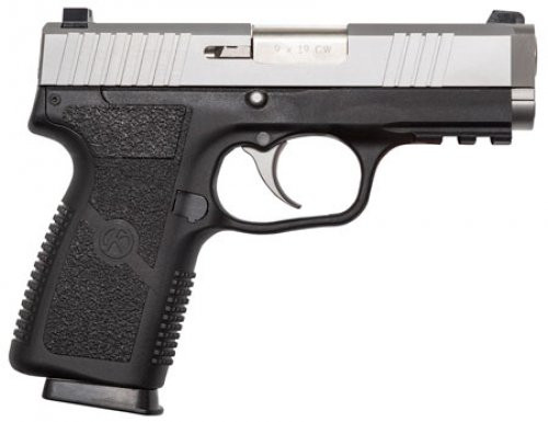 S9 manufactured by Kahr Arms. Comes with a standard 1913 accessory rail.