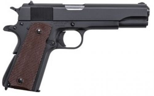 1911 chambered in 45 acp and built to GI specs.