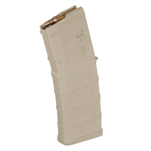 30 round Sand polymer AR-15 magazine .223 / 5.56, made by Magpul.
