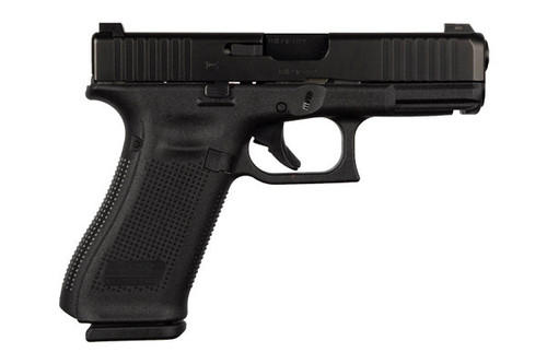 This is a Glock 45 chambered in 9x19(9mm) with Glock Night Sights.