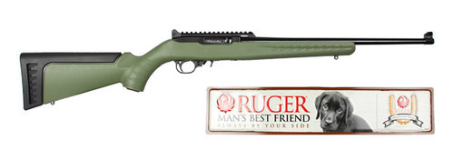 This is a Ruger 10/22 chambered in .22 LR. This model is #3 in the Collector Series.