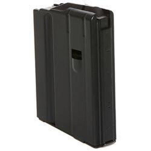 This is a 10 round AR-15 magazine for rifles chambered in 6.8 x 43mm, made by C-Products.