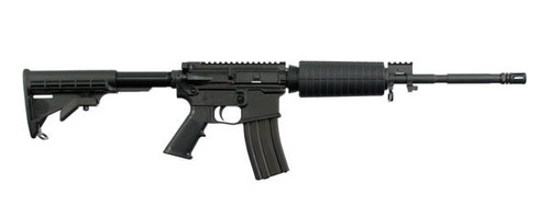 Windham Weaponry R16 rifle chambered in 5.56 NATO also has the capability of shooting .223 Remington. This model was manufactured with a Carbon Fiber Upper and Lower receiver.
