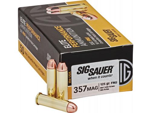 Sig Sauer ammunition, .357 Magnum 125 Grain