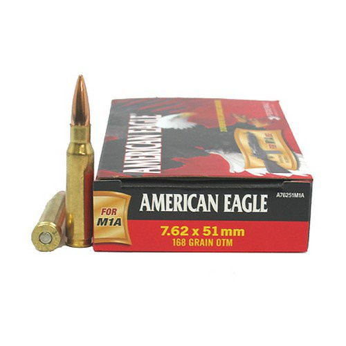 Federal American Eagle 7.62x51mm 168 Grain OTM (Open Top Match)