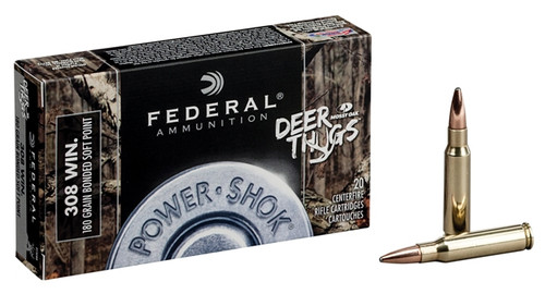 Federal 308 Winchester 150 Grain Mossy Oak Deer Thugs ammo