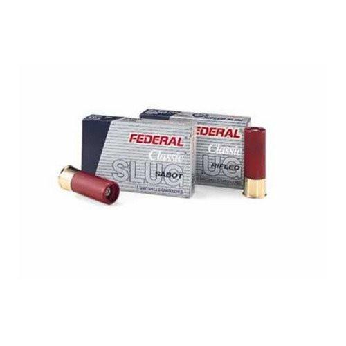 "Federal Classic Rifled Slugs HP 16 Gauge 2 3/4"" 4/5 oz  5 Round Box"