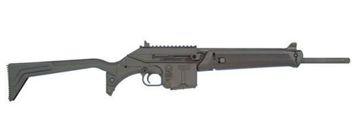 This is a Kel-Tec SU-16C chambered in 5.56 nato.