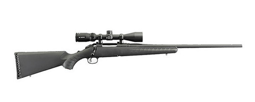 Ruger American rifle chambered in .243 Winchester with a Vortex 3-9X40 scope.
