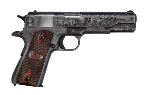 "This is a Auto-Ordnance 1911 chambered in 45 acp, ""Victory Girls"" special edition."