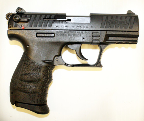 Walther P22QD  22 lr Pistol - Black - Used
