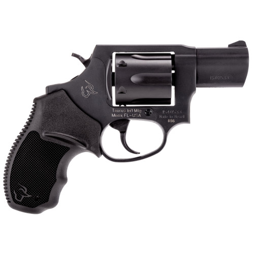 This is a Taurus 856, .38 special, 6 shot revolver, full-weight metal frame.