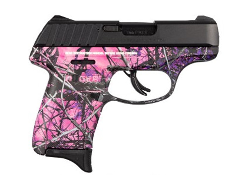 """This is a Ruger EC9S 9mm, with the """"Muddy Girl: finish. Comes with (1) 7 round magazine."""