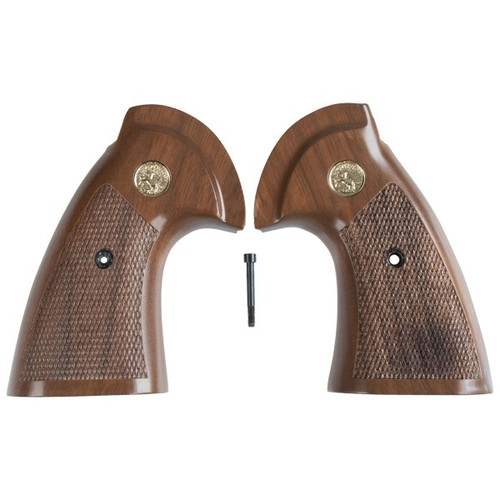 This is a pair of replacement grips for the Colt Python.