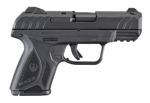 This is a Security 9 Compact chambered in 9mm manufactured by Ruger. Comes with (2) 10 round magazines.