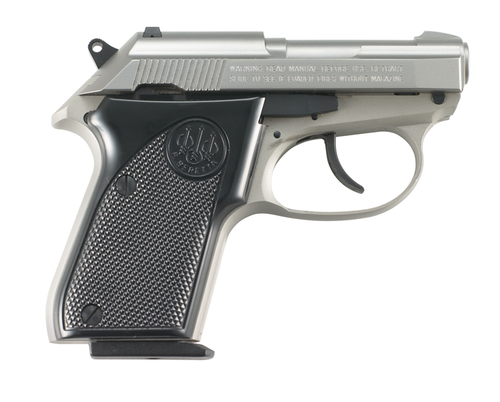 "This is a Beretta 3032, commonly referred to as the ""Tomcat"", chambered in 22 lr, comes with (1) 7 round magazine. This is the Inox, stainless version of this firearm."