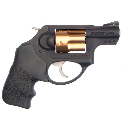 """This is a Special Edition Ruger® LCRx® .38 special +P.  This is the X model which has the external hammer. This limited edition features a copper colored PVD finish on the cylinder which has led us to call this the """"Arizona Edition"""", after the 5 """"C""""'s of Arizona: Copper, Cotton, Cattle, Climate, Citrus."""