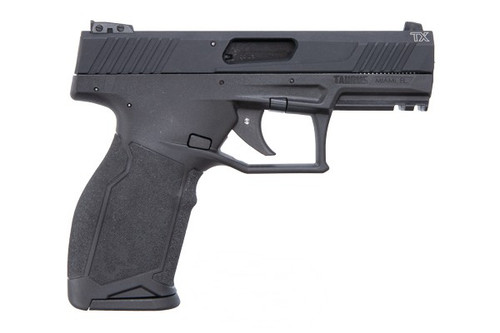 This is a Taurus TX22 pistol chambered in 22 LR comes with two (2) 16+1 magazines. This model has no manual safety.