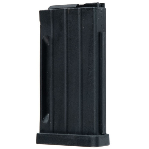 This is a factory Steyr magazine for the RFR .22 lr, maximum capacity of 10 rounds.