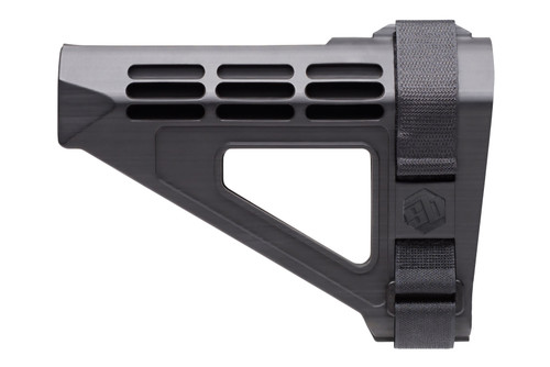 This is a genuine SB Tactical AR-Pistol stabilizing brace that will fit over your AR pistols buffer tube, made by SB Tactical. Black.