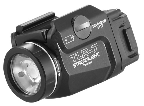 This is a Streamlight weapon light, model TLR-7, a maximum of 700 lumens.