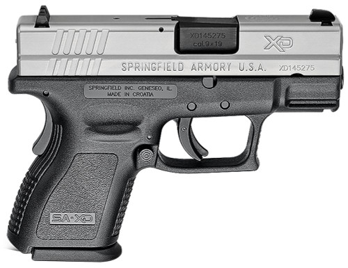 Springfield XD9 9mm Sub-Compact ESS Stainless - Pre-Owned