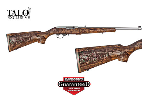 This is a Ruger 10/22 .22 lr, American Farmer II Edition. Limited Production of 3300.