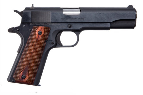 This is a Colt 1911 chambered in .45 acp. Series 70. New production from Colt know as the Classic model.