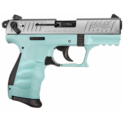 Walther P22Q .22 lr Pistol - Angel Blue