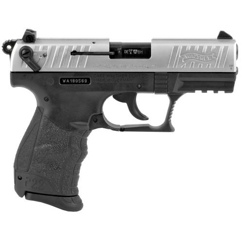 Walther P22Q .22 lr Pistol - Nickel
