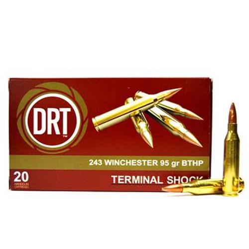 DRT Ammo - .243 Win - 95gr Terminal Shock - 20rd/box
