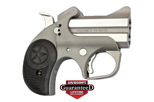"This is a Bond Arms derringer chambered is .45 ACP. The Roughneck 45 has a 2.5"" barrel."