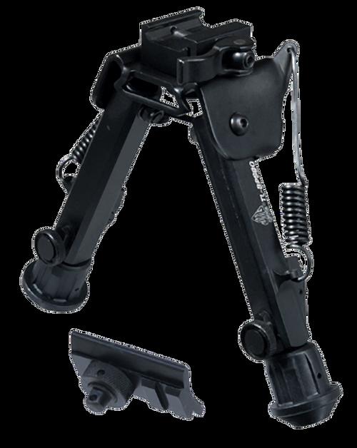 UTG TL-BP98Q Super Duty Bipod with QD Lever Mount Black Metal