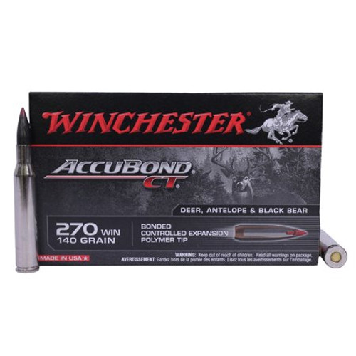 Winchester Accubond CT .270 Win 140gr 20 Rounds/Box