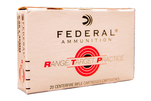 Federal Ammunition - RTP - 5.56 NATO - 55 Grain FMJ