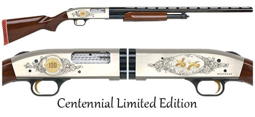"Mossberg 500 12ga Shotgun - 28"" - 100 Year Centennial Anniversary - TALO"