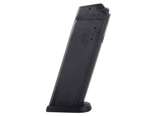This is an USED 10 round factory polymer magazine for the HK USP 40sw.