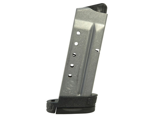 This is an extended factory Smith & Wesson magazine for the M&P Shield 40 s&w, 7 round capacity.